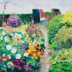 Louis Turpin Higher Garden After The Rain