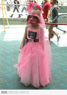 Pink Darth Vader for Daddy's Little Girl