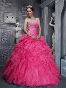 89ffcbf7977e1 Buy taffeta and organza appliques coral red quinceanera gowns with beading  from plus size quinceanera dresses collection