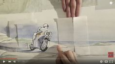 """Pohyblivá inšpirácia – Honda """"Paper"""" - http://detepe.sk/pohybliva-inspiracia-honda-paper/"""