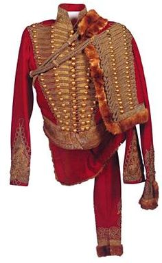 Austrian Field-Marshal General General's Pelisse of Tsar Alexander I Circa 1817. Wool, gold thread, sable fur, at the Tsarskoe Selo Museum-Preserve. Members of the Imperial Family were often made honorary patrons of foreign regiments.
