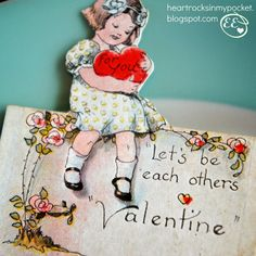 Heart Rocks in my Pocket: Vintage Valentines