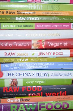 My Library – Almost Raw Vegan -nutrition books
