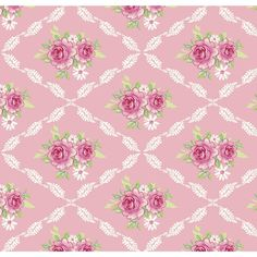 The Fabric Tree House Decoupage Vintage, Vintage Diy, Vintage Wrapping Paper, Decoupage Paper, Vintage Paper, Scrapbooking, Scrapbook Paper, Motifs Textiles, Floral Rosa