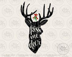 Reindeer SVG, Cricut Explore, Silhouette Cameo, SVG Design, Christmas SVG, Rudolph SVG, Reindeer Cut File