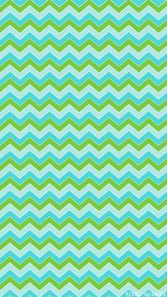 Blue+GreenChevronWallpaper