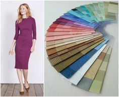 1de2c57ce488 Marisa dress by Boden and my A Vintage Affair palette from Beauty Valued