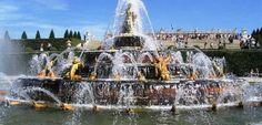 Le Fontane Musicali alla Reggia di Versailles: ogni martedì, sabato, domenica e festivi da Aprile ad Ottobre.