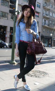 48 Best Fashion Style  Denim shirts images  39fde017c