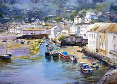 Paintings and master works of David TaylorDavid Taylor artist Watercolor Sketch, Watercolor Landscape, Landscape Paintings, Watercolor Paintings, Watercolors, Watercolor Water, Landscapes, West Art, Overseas Travel