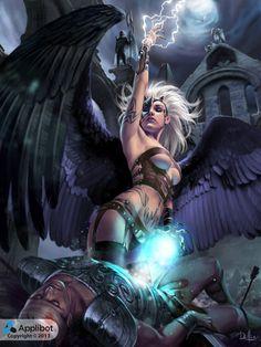 fantasy-scifi:  Luca Reg by ChrisRa