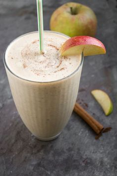 Apple Peanut Butter Shakes | Horses  Heels (not bad at all, i added a banana for one of the apples - probably would be better with just two apples as the recipe called for)