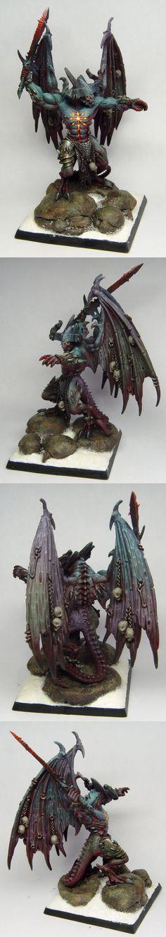 40k - Daemon Prince of Chaos