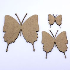 2mm MDF Wooden Fancy Butterfly, Craft Shapes, Embellishments, Tags, Decorations in Crafts, Woodworking | eBay