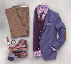 Outfit grid - Dapper look