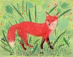 I have a thing for foxes...
