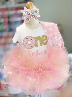 Embroidered 1st 2nd 3rd 4th Number H Kitty white kitty birthday ribbon tutu dress size 12m 18m 2t 3t 4t 5t 6 78