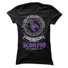 Born as Scorpio T-Shirts, Hoodies. VIEW DETAIL ==► https://www.sunfrog.com/LifeStyle/Born-as-Scorpio-Ladies.html?id=41382