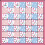 Free Baby Quilt Pattern: Lap Quilt Pattern Plus Easy Baby Blanket Pattern