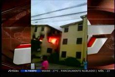 Incendio Destruye Un Apartamento En Santiago #Video