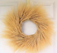 Wheat Centerpiece Ideas For A Country Wedding add a sunflower and this would be perfect