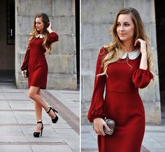 Red wine (by Karina P.) http://lookbook.nu/look/4064990-Red-wine