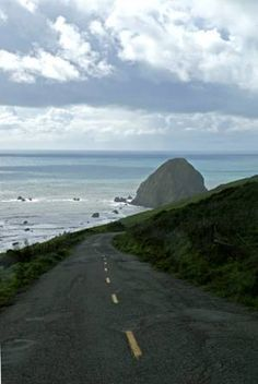 Mattole Road, Ferndale, Lost Coast, Cape Mendocino - Westernmost Point in the US