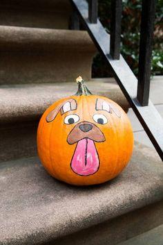 Snapchat filter pumpkins!