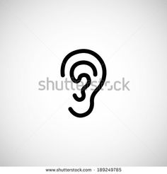 Ear Icon Stock Images, Royalty-Free Images & Vectors | Shutterstock