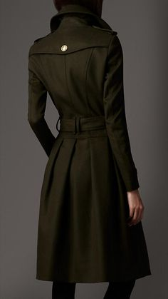 Wool Cashmere Coat | Burberry.