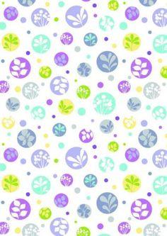 Papel del libro de recuerdos - Naturaleza Dots