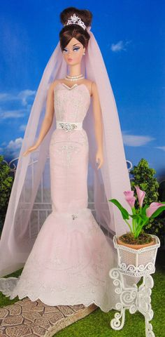 Bridal Blush for Silkstone Barbie