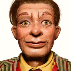 Creepy Portraits of Ventriloquist Dummies From a Master Photographer | Matthew Rolston | WIRED.com