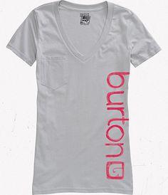 burton tee Happy Things, V Neck, Tees, T Shirt, Gifts, Women, Fashion, Supreme T Shirt, Moda