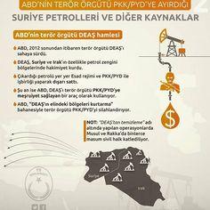 #ABD #pkk #pyd #deaş #deas #terör  #örgütler  #suriye #syria #ırak #petrolleri  #petrol #diğer #kaynaklar #gündem #haber #trdiplomacy #infografik #infographic #2