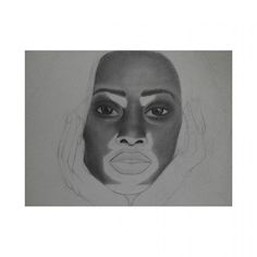 Unfinished Winnie Harlow @winnieharlow #young_artists_help #talentedpeopleinc #art #arte #draw #drawing #blackandwhite #blancoynegro by drawingtheflicker