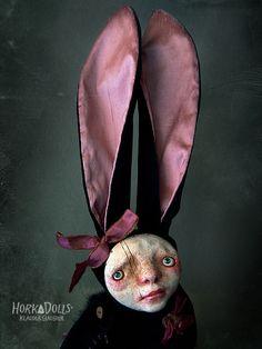 art doll NORI HorkaDolls, art dolls by Klaudia Gaugier