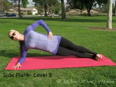 Side Plank Level 3