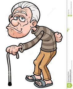 Vector illustration of cartoon old man royalty free cliparts Old Lady Cartoon, Cartoon People, Cartoon Faces, Cartoon Characters, Old Man Face, Man Vector, Vector Vector, School Murals, Funny Pigs