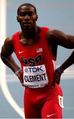IAAF World Athletics Championships Lean Machine, World Athletics, Lycra Men, Cute Black Guys, Vs The World, Sexy Poses, Sport Man, Track And Field, Olympians