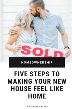 5 awesome steps to making your house feel like home! Home Buying Tips, Home Buying Process, Buying A New Home, Real Estate Articles, Real Estate Tips, Moving To Another State, Planning A Move, New Homeowner, First Time Home Buyers