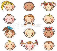 Hi ha diversitat d'imatges de fillets i filletes....great pics to help me draw people...too cute!