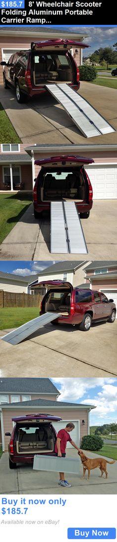 Access Ramps: 8 Wheelchair Scooter Folding Aluminum Portable Carrier Ramp: 7 9 Van Handicap BUY IT NOW ONLY: $185.7