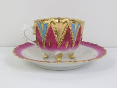 Vintage teacup Footed Tea Cup Demitasse by CuteAndSweetVintage, $30.00