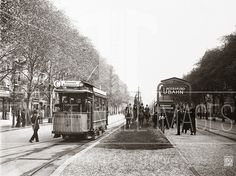1913 U-Bahnhof Uhlandstrasse und Kurfuerstendamm