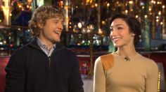 American ice dancing duo extraordinaire Meryl Davis and Charlie White 'have dreams of Olympic gold'