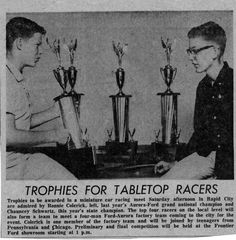 Slot Car champs from the 1960's