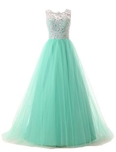 Hblld Women's Lace Tulle Evening Party Long Prom Dress Ball Gowns 12 Turquoise Hblld http://www.amazon.com/dp/B016C2J6MC/ref=cm_sw_r_pi_dp_6YITwb0RR349Z