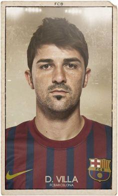 El Barça actual en cromos antiguos - 20minutos.es