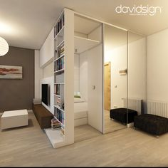 How To Make A Small Apartment Look Larger by davidsign, Chisinau, Moldova | http://www.designrulz.com/design/2013/03/how-to-make-a-small-apartment-look-larger-by-davidsign-chisinau-moldova/